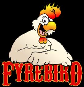 Fyrebird Outline