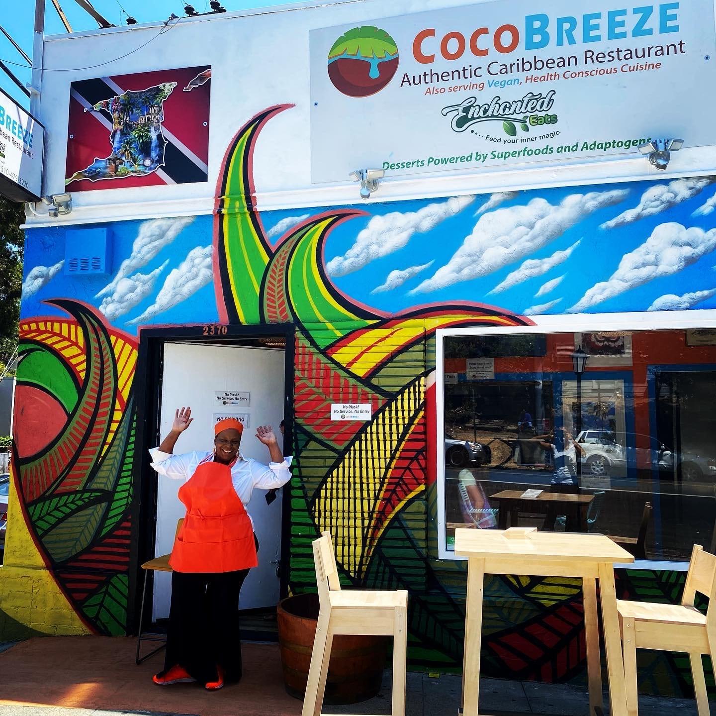 Cocobreeze Caribbean Restaurant And Vegan Bakery Black Restaurant Week