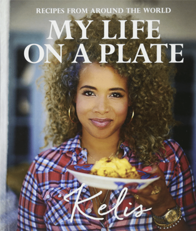 """Cover of Kelis' Cookbook """"My Life on a Plate"""""""