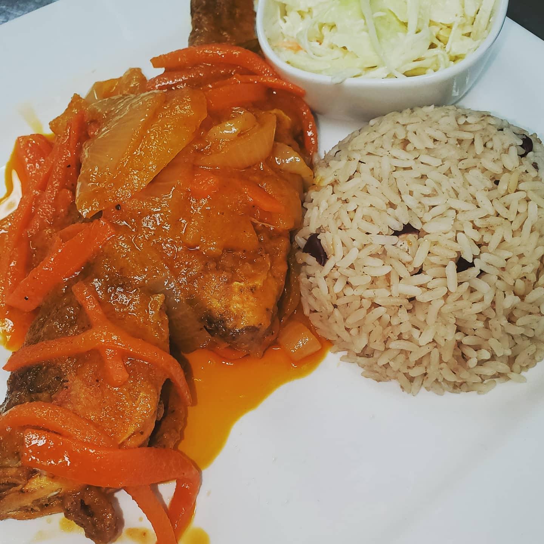 Traditional Caribbean food