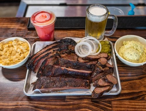 Photo of the food at Ray's BBQ Shack