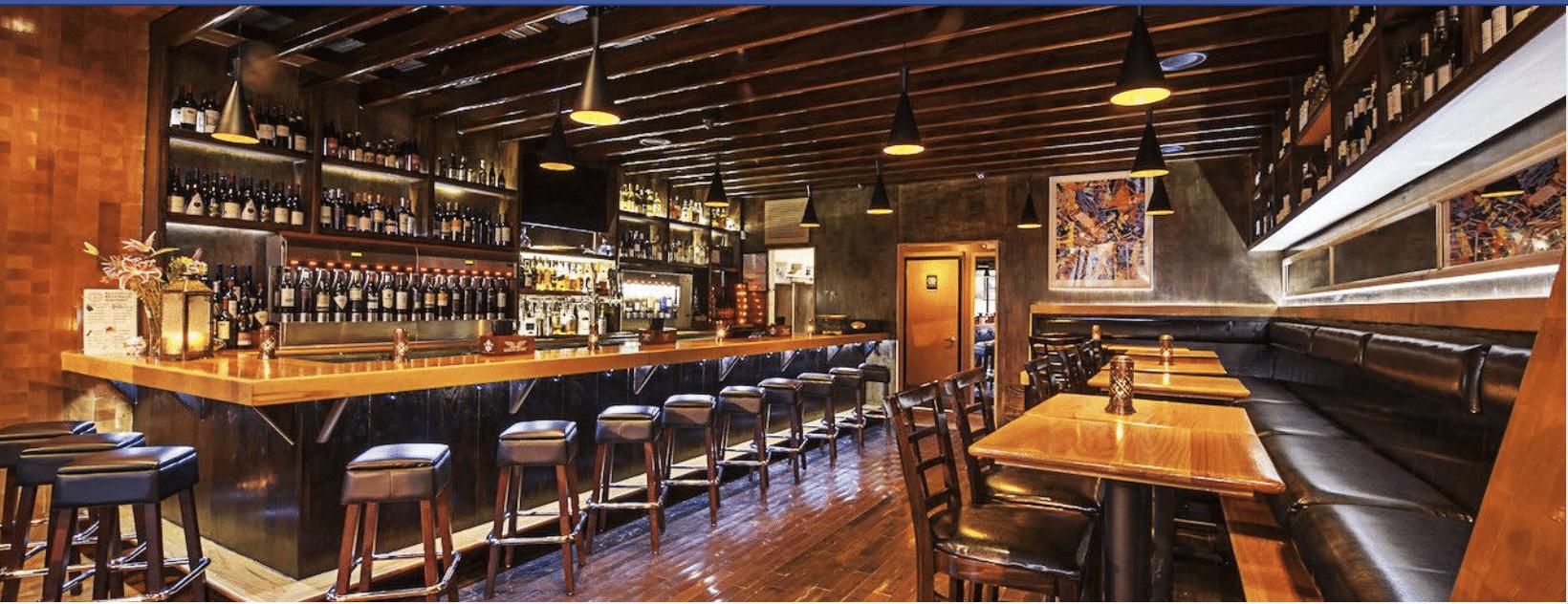 Bar & lounge area at Bin 1301