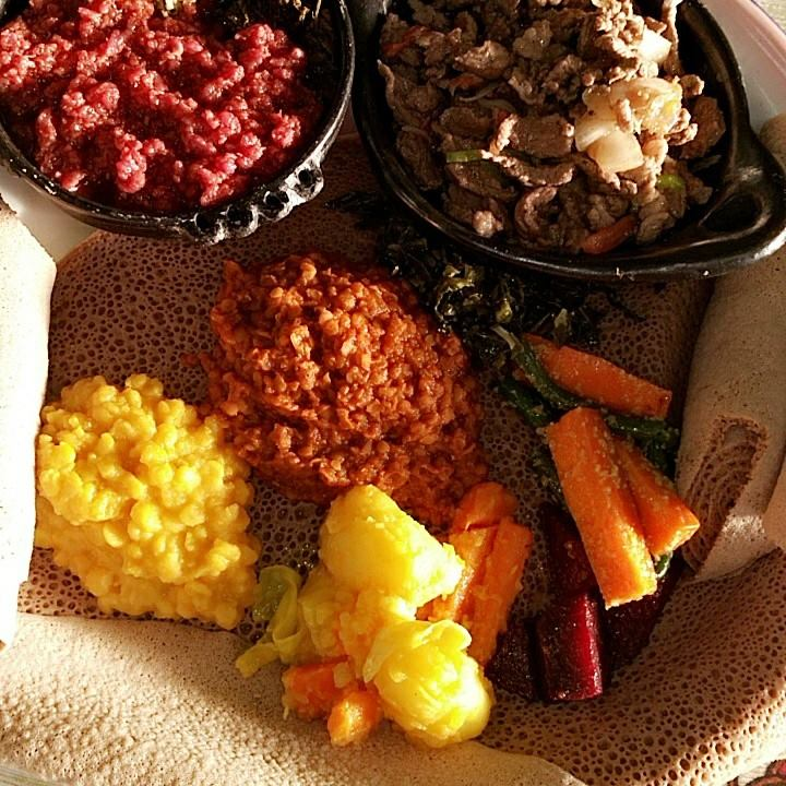 food from Try Me Ethiopian