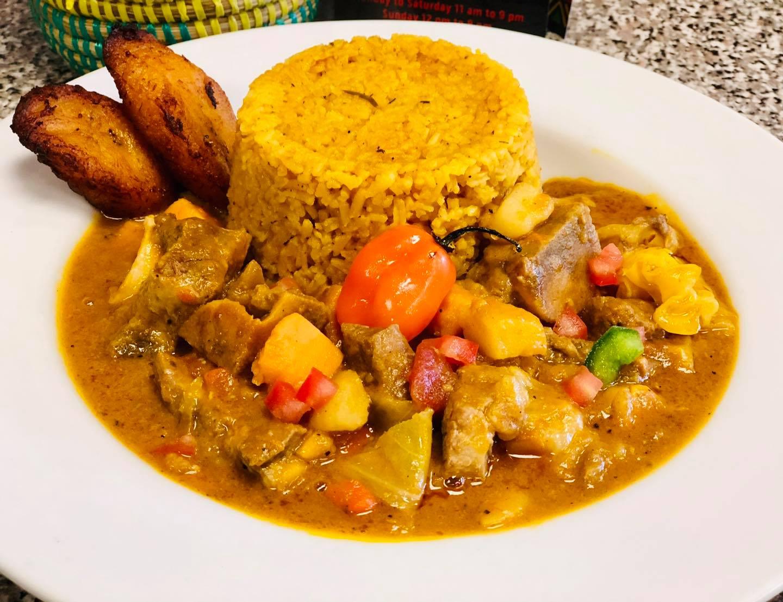 Food from Nigerian restaurant Bala's bistro
