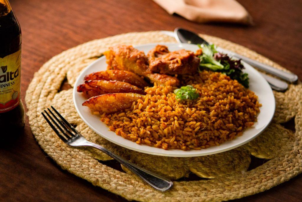 food from cafe songhai nigerian restaurant